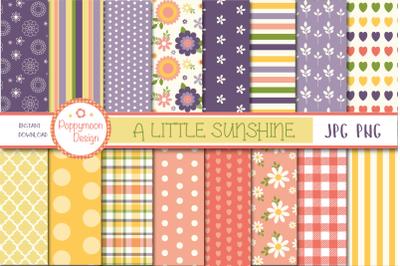 A little Sunshine paper set