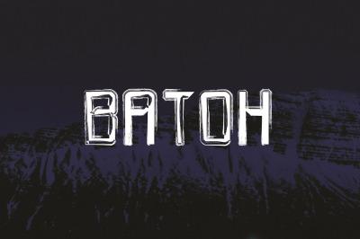 batoh font