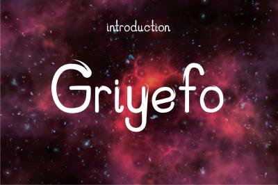 griyefo font