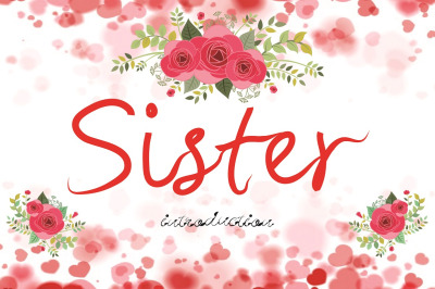 sister font