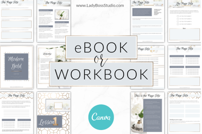 Canva Gold eBook Templates