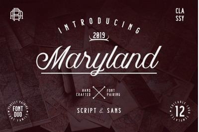 Maryland Font Family