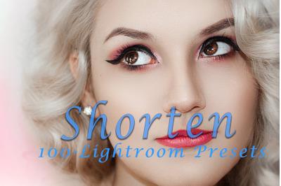 Shorten Lightroom Presets