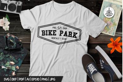 Vintage Outdoor Bike Tours Logo / Badge Templates SVG File
