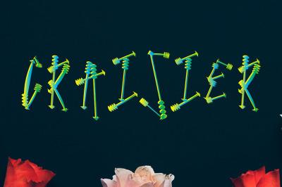 CraiSier Font by watercolor floral designs