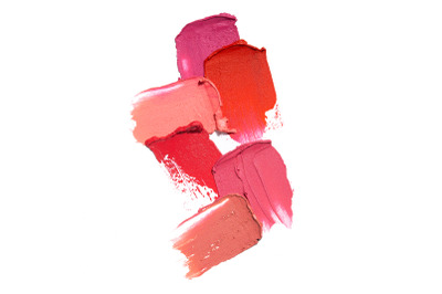 Beauty swatches.