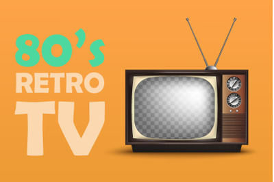 Realistic Retro TV