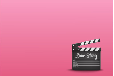 Clapperboard Love Story