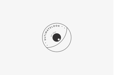 Minimal Photography Logo Design