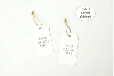 Gift Tag / Thank You Tag / Product Tag / Tag Mockup