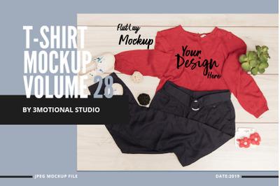 T-Shirt Mockup Volume 28