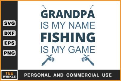 Download Fishing Pole Names Svg