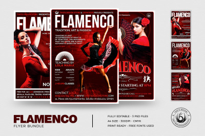 Flamenco Flyer Bundle V1