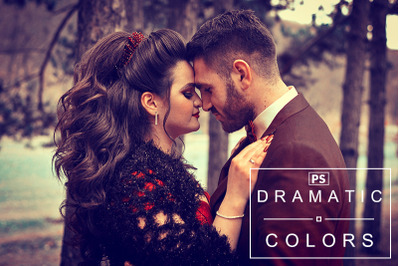 Dramatic Colors  Photoshop Action