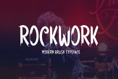 Rockwork Typeface