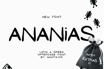 Ananias Doodle Font