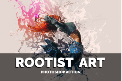 Rootist Art Photoshop Action