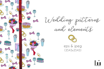 Wedding patterns and elements