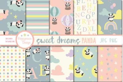 Sweet Dreams Panda paper