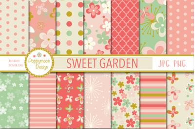 Sweet Garden paper