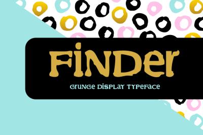 Finder Typeface