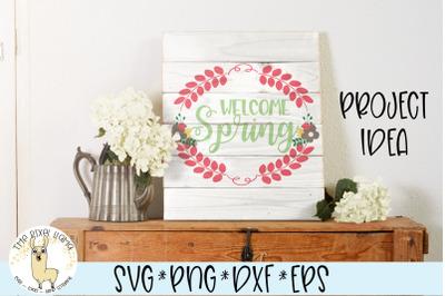 Welcome Spring SVG