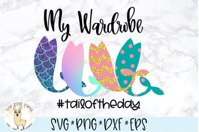 My Wardrobe Mermaid SVG