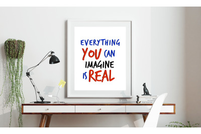 Machine Embroidery Design Quote Picasso Everything You Can Imagine Is