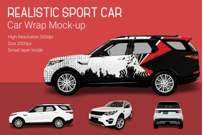 Sport Car Mock-Up