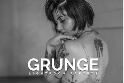 Grunge Lightroom presets