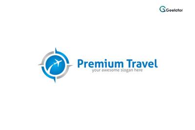 Premium Travel Logo Template
