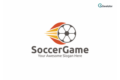 Soccer Game Logo Template