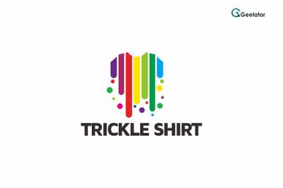 Trickle Shirt Logo Template