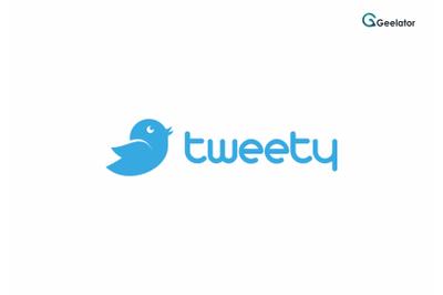 tweety Logo Template