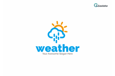weather Logo Template