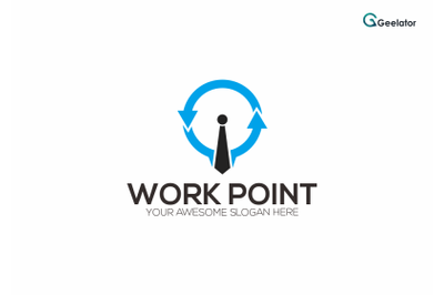 Work Point Logo Template