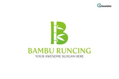 Bambu Runcing Logo Template