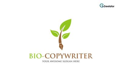 Bio-Copywriter Logo Template