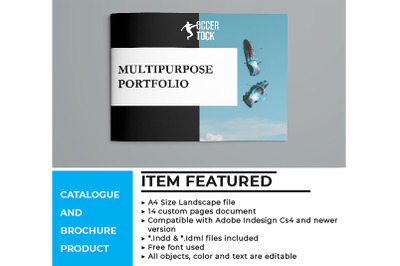 A4 Landscape Brochures
