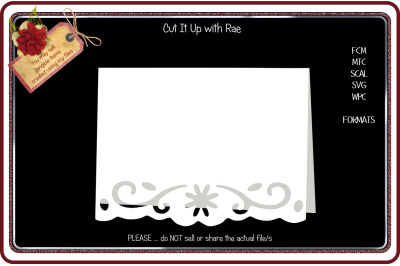 192 Border Greeting Card FCM MTC SCAL SVG WPC
