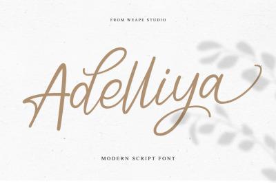 Adelliya Script