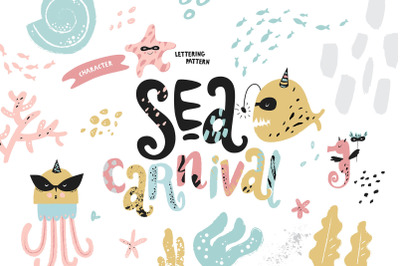 Sea carnival. Graphic Collection