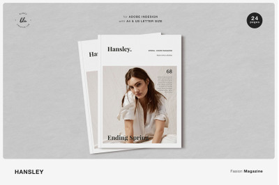 HANSLEY Fasion Magazine