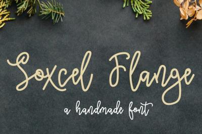 Soxcel Flange Script Font