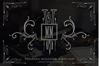 Venerable Monogram Maker Font