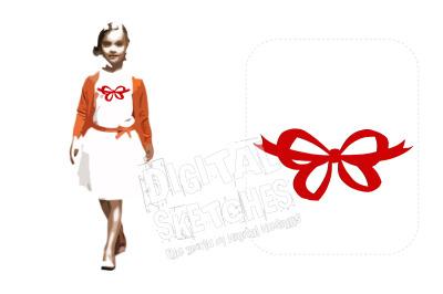 Machine Embroidery Design Ribbon Gift