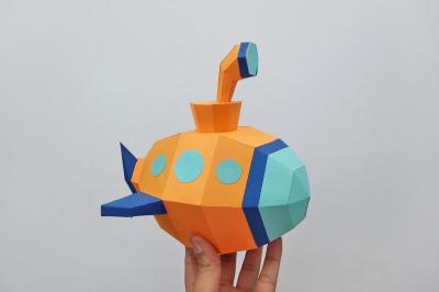 DIY Submarine - 3d papercraft