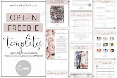 Canva Classy Opt-in Freebie Templates