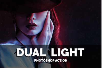Dual Light Photoshop Action