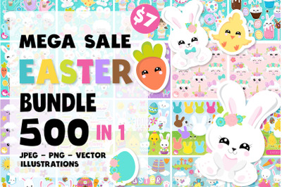 EASTER Mega Bundle - 500 in 1